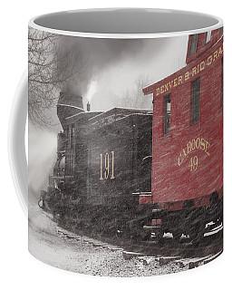 Fighting Through The Winter Storm Coffee Mug