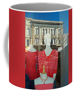 Figure In Window By Jan Marvin Coffee Mug
