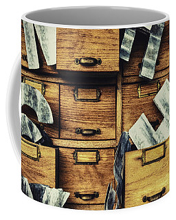 Filing System Coffee Mug
