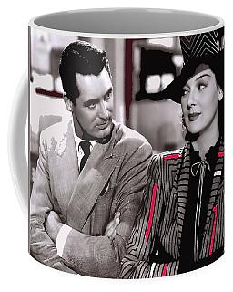 Film Homage Cary Grant Rosalind Russell Howard Hawks His Girl Friday 1940-2008 Coffee Mug