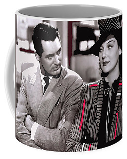 Film Homage Cary Grant Rosalind Russell Howard Hawks His Girl Friday 1940-2008 Coffee Mug