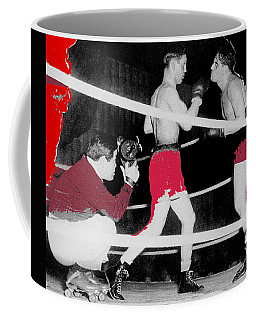 Film Noir Cinematographer James Wong Howe John Garfield Body And Soul 1947 Color Added 2013 Coffee Mug
