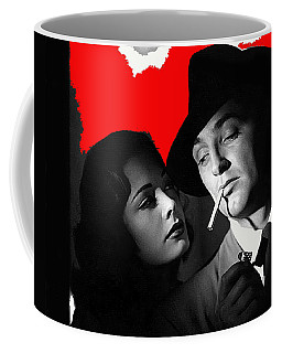 Film Noir Jane Greer Robert Mitchum Out Of The Past 1947 Rko Color Added 2012 Coffee Mug