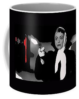 Film Noir Joan Crawford Jack Palance Sudden Fear 1952 Rko Publicity Photo Color Added 2012 Coffee Mug