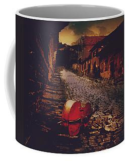 Finale Cello And Bones Coffee Mug