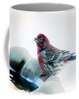 Finch Coffee Mug by Ann Lauwers