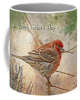Finch Greeting Card Father's Day Coffee Mug