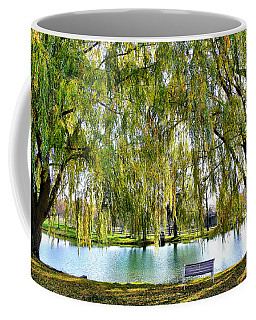 Finger Lakes Weeping Willows Coffee Mug