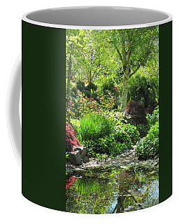 Finnerty Gardens Pond Coffee Mug by Marilyn Wilson