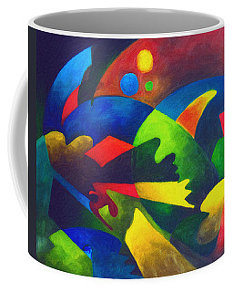 Fins Coffee Mug by Sally Trace