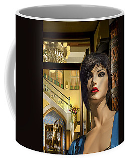 Fiona Arrives In Prague Coffee Mug