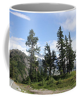 Fir Trees At Mount Baker Coffee Mug by Tom Janca
