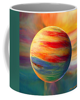 Fire And Ice Ball  Coffee Mug