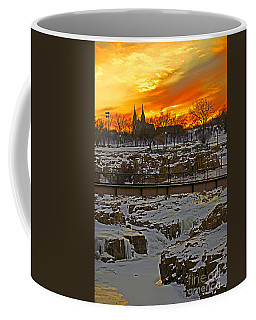 Fire And Ice Coffee Mug by Elizabeth Winter