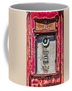 Coffee Mug featuring the photograph Fire Chief Gas by Steven Bateson