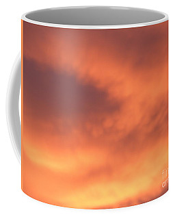 Fire Clouds Coffee Mug