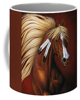 Fire Dance Coffee Mug by Pat Erickson