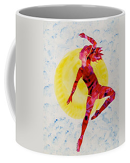 Fire Dancer Coffee Mug