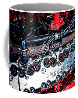 Fire Engine Engine Coffee Mug