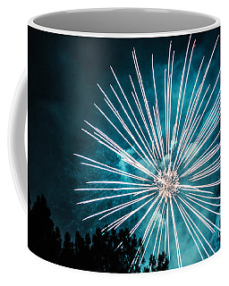 Coffee Mug featuring the photograph Fire Flower by Suzanne Luft