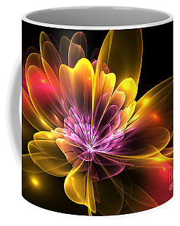 Fire Flower Coffee Mug by Svetlana Nikolova