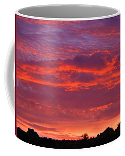 Fire In The Arizona Sky Coffee Mug
