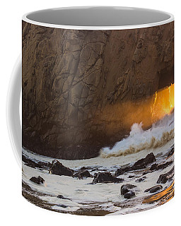 Fire In The Hole Coffee Mug by Suzanne Luft