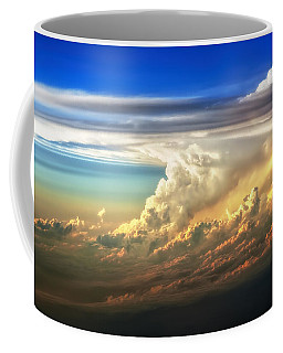 Fire In The Sky From 35000 Feet Coffee Mug