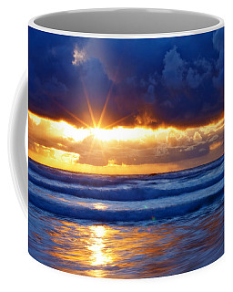 Fire On The Horizon Coffee Mug
