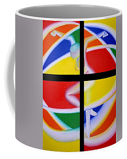 Firedancer Coffee Mug by Joshua Morton