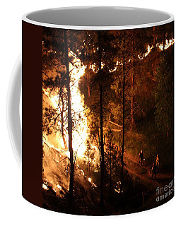 Firefighters Burn Out On The White Draw Fire Coffee Mug