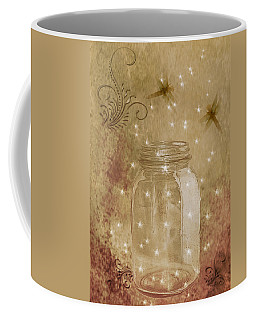 Fireflies And Dragonflies Coffee Mug by TnBackroadsPhotos