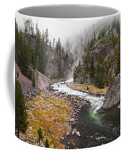 Firehole Canyon - Yellowstone Coffee Mug