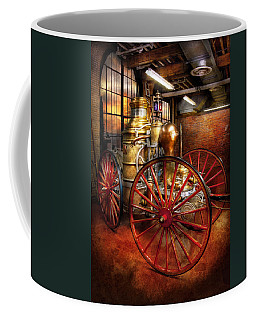 Fireman - One Day A Long Time Ago  Coffee Mug by Mike Savad