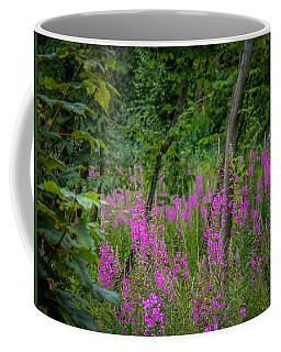 Fireweed In The Irish Countryside Coffee Mug