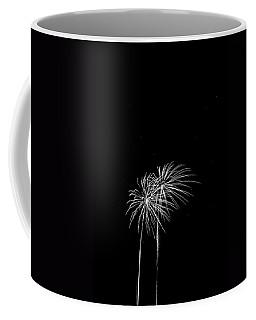 Firework Palm Trees Coffee Mug