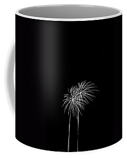 Firework Palm Trees Coffee Mug