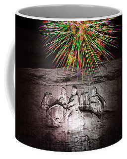 Fireworks Over Stone Mountain Coffee Mug