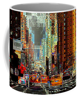 First Avenue - New York Ny Coffee Mug