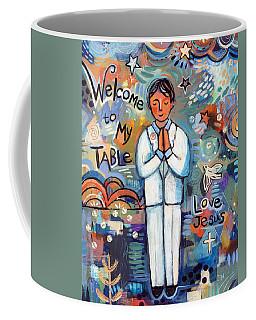 First Communion Boy Coffee Mug