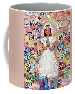 First Communion Girl Coffee Mug