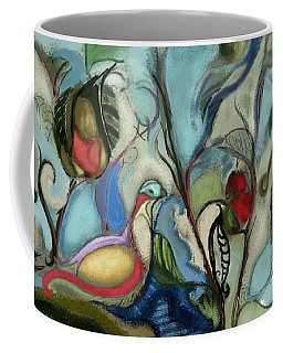 First Day Of Christmas Coffee Mug by Carrie Joy Byrnes