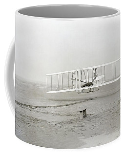 First Flight Captured On Glass Negative - 1903 Coffee Mug
