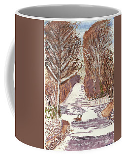 First Footprints Coffee Mug