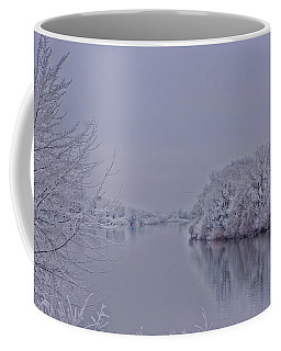 Coffee Mug featuring the photograph First Frost by Lynn Hopwood