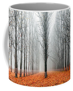 First In The Line Coffee Mug