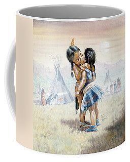 First Kiss Coffee Mug