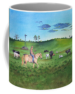 First Light On A Citrus Ranch Coffee Mug