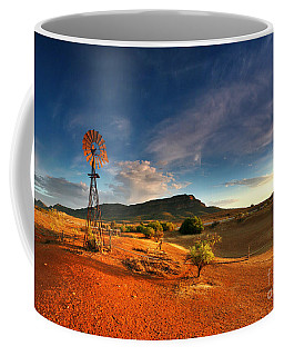 First Light On Wilpena Pound Coffee Mug