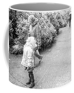 Coffee Mug featuring the photograph First Snow by Dave Beckerman
